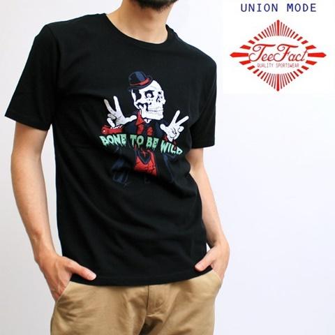 2015-06-03 半袖プリントTシャツ(BONE TO BE WILD) 1
