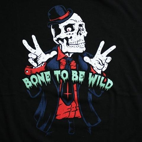 2015-06-03 半袖プリントTシャツ(BONE TO BE WILD) 2