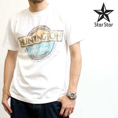 2015-06-13 6テン2ozオリジナル半袖プリントTシャツ(Huntington) 1
