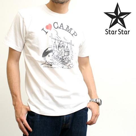 2015-06-13 6テン2ozオリジナル半袖プリントTシャツ(I LOVE CAMP) 1