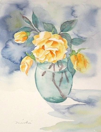 バラ黄色F201505