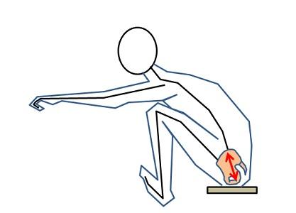 ④骨盤前傾