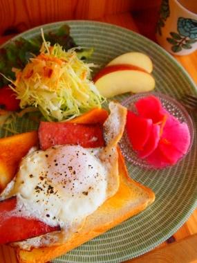 one plate breakfast