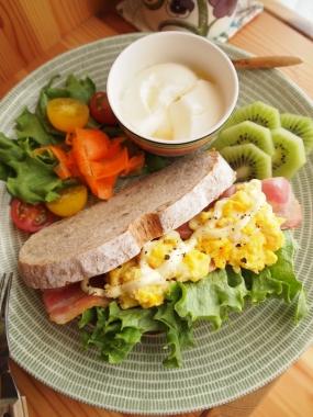 Pain de campagne-sandwich