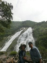 大川の滝マクロ