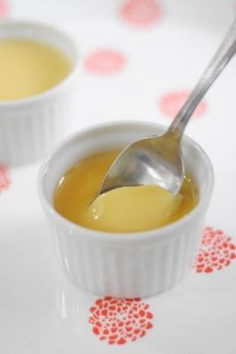 バニラが香る豆乳ときび砂糖のヘルシープリン1