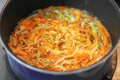 切り干し大根と高野豆腐の旨煮3