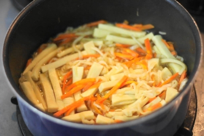 切り干し大根と高野豆腐の旨煮5