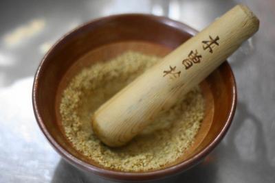 にんじんとごぼうのごま醤油サラダ2