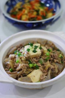 豚バラこんにゃく豆腐2