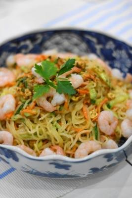 タイ風ドレッシングの春雨サラダ