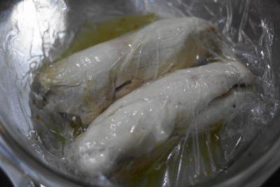 鶏胸肉の塩だれチャーシュー5