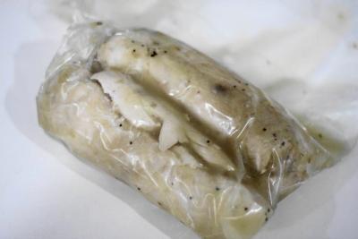 鶏胸肉の塩だれチャーシュー6