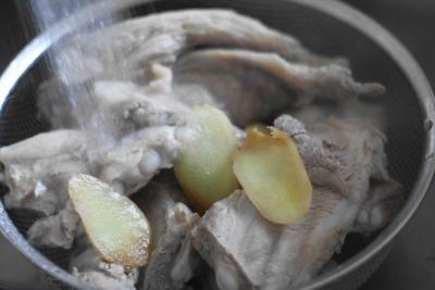 圧力鍋で軟骨ソーキの煮込み5