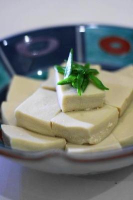 高野豆腐の豆乳煮2