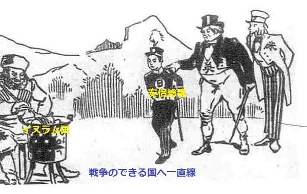 日露戦争の風刺画