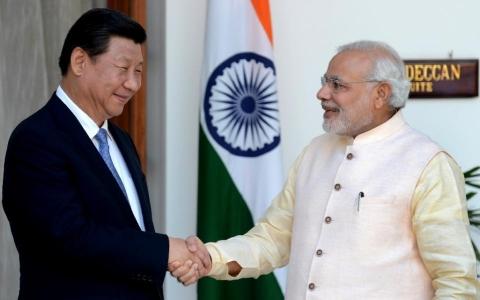 インド首相の中国訪問