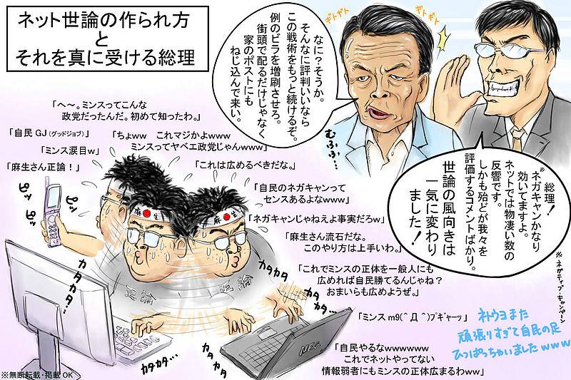 ねつ造世論で日本を混乱に落とし入れる男「世耕弘成」