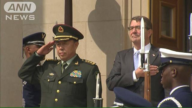 中美军方高层会面