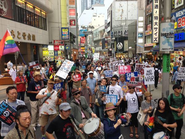 渋谷で戦争反対-3-