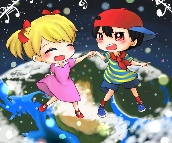 ニンテンとアナ