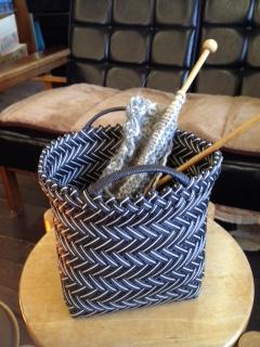 網代編みかご