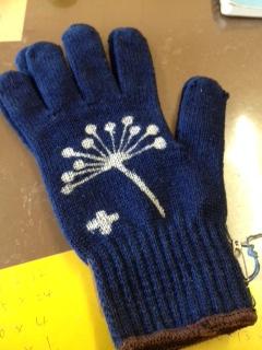 手描き手袋