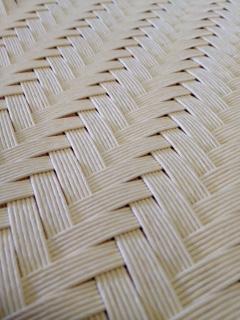網代編みマット