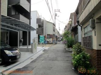 阪南3前面道路