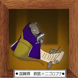 25滋賀県 鉄鼠×ニゴロブナ