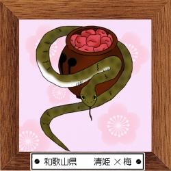 30和歌山県 清姫×梅