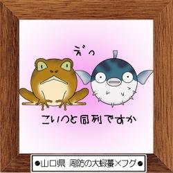 35山口県 周防の大蝦蟇×フグ