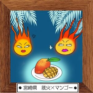 45宮崎県 筬火×マンゴー
