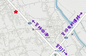 松尾珈琲屋地図