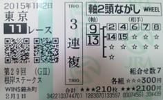 2015根岸S