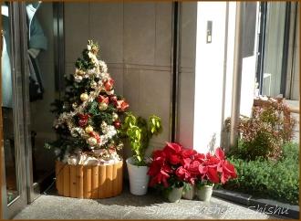 20141224 駅前 洋品店  クリスマス