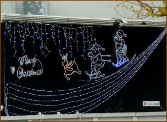 20141224 工事現場 2  クリスマス