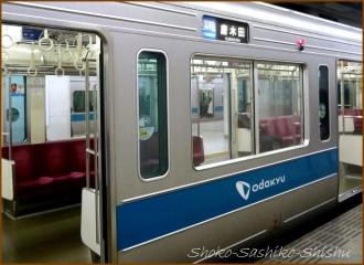 20150122 列車 小田急に乗って