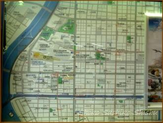 20150227 改札口 地図 1  さしこ二人展