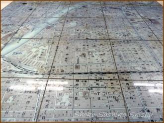 20150227 改札口 地図 3  さしこ二人展