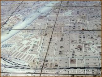 20150227 改札口 地図 4  さしこ二人展