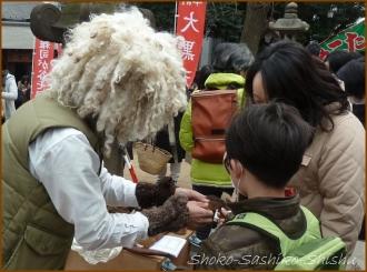 20150317 羊毛 2  手創り市