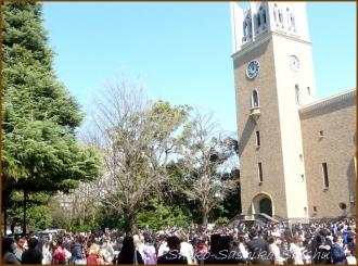 20150326 大隈講堂前 1  卒業式
