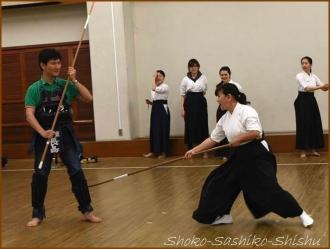 20150429  デモ 1 薙刀