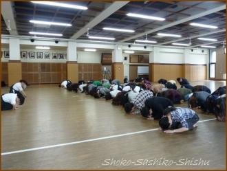 20150429  剣道場  薙刀