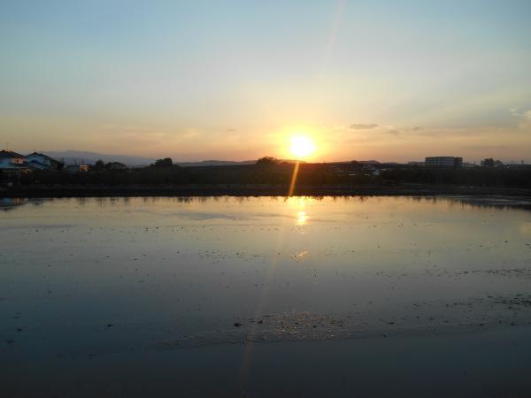 2015宍道湖の夕日