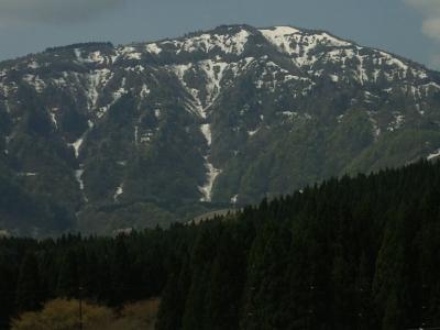5月初めの氷ノ山
