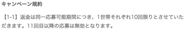 シックキャンペーン_規約