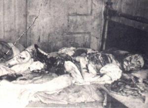 写真:メアリー・ケリー、死体の惨状