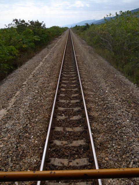 台湾の線路